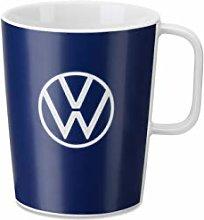 Volkswagen 000069601BR Mug Porcelain Blue with VW
