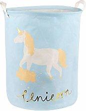 Volowoo Unicorn Toy & Laundry Storage Organizer