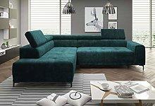VOLTA L Modern Corner Sofa Electric Seat Depth