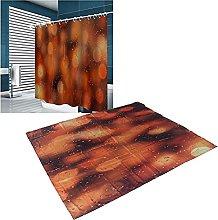 Voluxe Bath Curtain, Bathroom Curtain Accessory