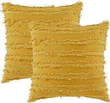 Volwassan Cotton Cushion Cover Set of 2 Tassels