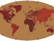 VOMBRI BRIZIO WORLD CLOCK PRINTED WITH 14 TIME