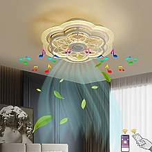 VOMI 60W LED Music Fan Ceiling Light with