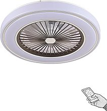 VOMI LED Ceiling Light with Fan Enclosed Dimmable