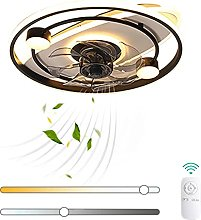 VOMI Modern Ceiling Fan with Lamp LED 50W with