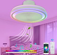 VOMI Silent Ceiling Light with Fan Bluetooth