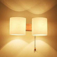 VOMI Wood Indoor Wall Lights Living Room with