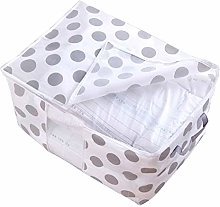 Vommpe Large Non-Woven Quilt Storage Bag Box