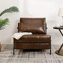 Vonanda Faux Leather Sofa Bed, Easy Folding