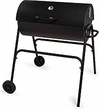 VonHaus Barrel Charcoal BBQ – Barbecue Grill for