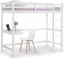 VonHaus Wooden Study Bunk Bed Frame – Stylish