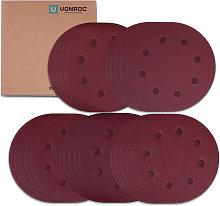 VONROC Sanding paper - 180mm - 25 pieces -