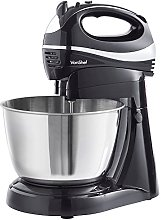 VonShef 2 in 1 Twin Hand and Stand Mixer, Black,