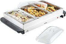 VonShef 3 Tray Food Warmer Buffet Server – 3 x