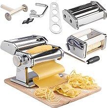 VonShef 5 in 1 Fresh Pasta Maker Machine Roller -
