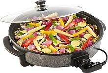 VonShef Large Multi Cooker - Aluminium 1500W