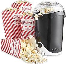 VonShef Popcorn Maker - Electric Machine with Hot