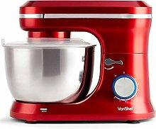 VonShef Red Food Mixer - Stand Mixer with 8 Speeds