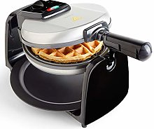 VonShef Waffle Maker with Rotating Iron, Non-Stick