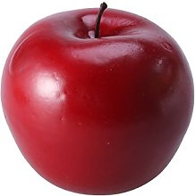 Vorcool Decorative Apple Artificial Fruit Red