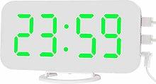 VORCOOL Digital Alarm Clock with Dual USB Charging