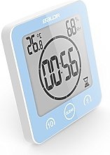 VORRINC Digital Bathroom Shower Clock, Waterproof