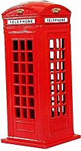 VOSAREA 13cm Decorative London Telephone Booth