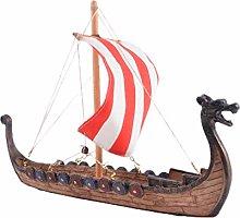Vosarea 1pc Boat Ornaments Decor Dragon Boat Resin