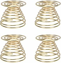 Vosarea 4pcs Egg Cup Durable Stainless Steel