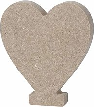 Vosarea Alphabet Letters Wooden Attractive Heart