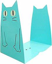 Vosarea Bookends Cat Tinplate Book Ends Decorative