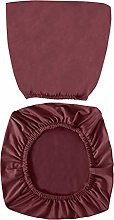 VOSAREA Claret Office Chair Covers Stretch