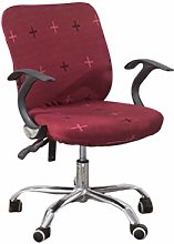 Vosarea Computer Office Chair Cover Stretchable
