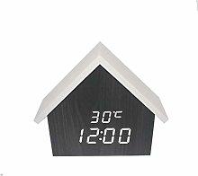 VOSAREA Digital Desk Clock Temperature Display