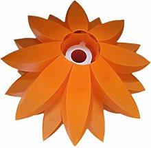 VOSAREA DIY Lotus Chandelier PP Pendant Lampshade