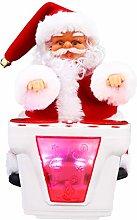 VOSAREA Electric Santa Claus Figurine with Musical