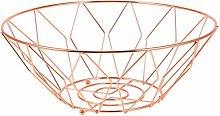 VOSAREA Iron Wire Fruit Basket Countertop Fruit
