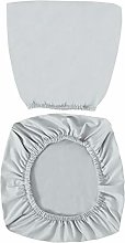 VOSAREA Light Grey Office Chair Covers Stretch