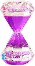Vosarea Liquid Motion Bubbler Timer Oil Hourglass