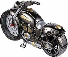 VOSAREA Motorbike Alarm Clock Retro Motorcycle