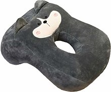 VOSAREA Nap Pillow Nap Sleeping Face Pillow Dog