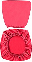 VOSAREA Red Office Chair Covers Stretch Computer