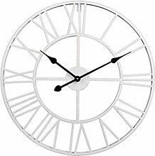 VOSAREA Roman Numeral Wall Clock 40CM Household