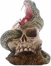 VOSAREA Skull Ornament Halloween Decor Horrible