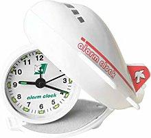 VOSAREA Tabletop Alarm Clock Foldable Airplane