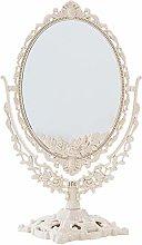 Vosarea Women Countertop Makeup Mirror Oval Shaped