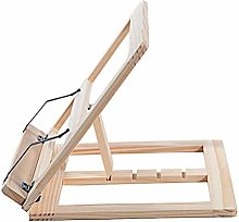 VOSAREA Wooden Desk Table Easel Drawing Stand Fits