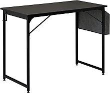 VOSAREA Writing Computer Desk 100cm Home Office