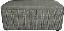 Vouno Ottoman August Grove Upholstery: Demdike