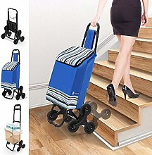 VOUNOT Shopping Trolley on 6 Wheels, Foldable